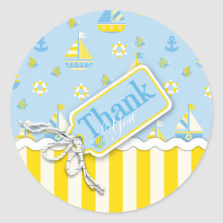 Nautical TY Sticker