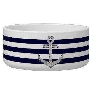 Nautical white rose anchor