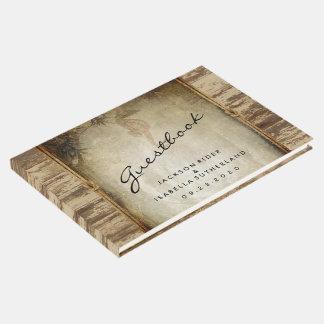 Nautical Wood Design Guestbook