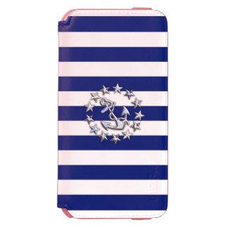 Nautical Yacht Flag Theme Design Incipio Watson™ iPhone 6 Wallet Case