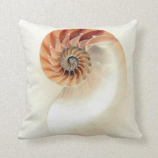 Nautilus and Friend Throw Pillow