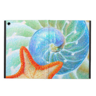 Nautilus And Starfish Case For iPad Air