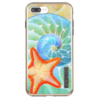 Nautilus And Starfish Incipio DualPro Shine iPhone 7 Plus Case
