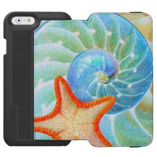 Nautilus And Starfish Incipio Watson™ iPhone 6 Wallet Case