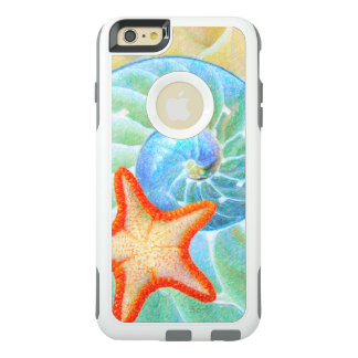 Nautilus And Starfish OtterBox iPhone 6/6s Plus Case