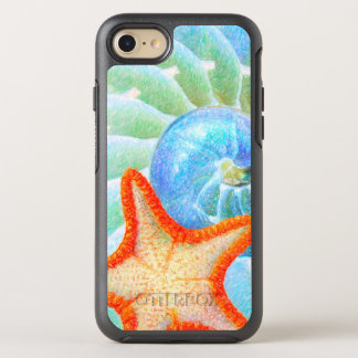 Nautilus And Starfish OtterBox Symmetry iPhone 8/7 Case