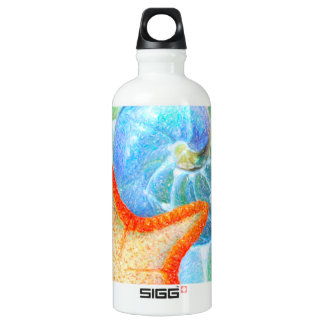 Nautilus And Starfish Water Bottle