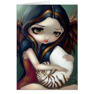 """Nautilus Angel"" Greeting Card"