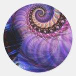 Nautilus Classic Round Sticker
