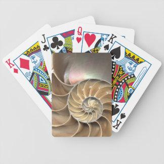 Nautilus Close Up Bicycle Playing Cards