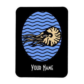 Nautilus Graphic Magnet with Your Name
