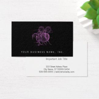 Nautilus (letterpress style) business card