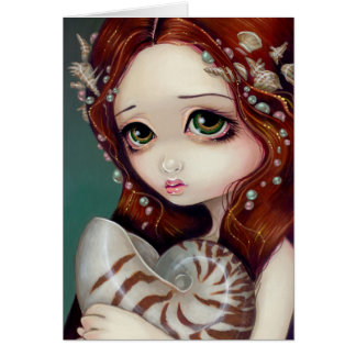 """Nautilus Princess"" Greeting Card"