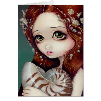 """Nautilus Princess"" Greeting Card"