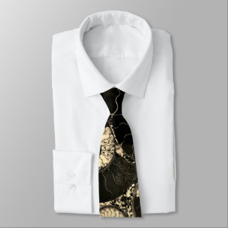 Nautilus shell design tie