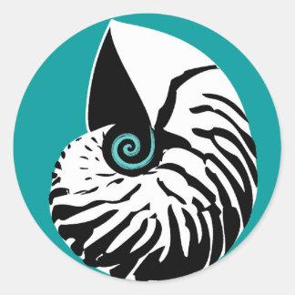 Nautilus sticker