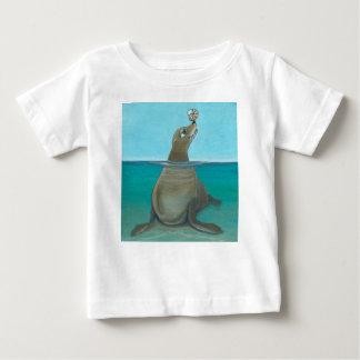 """Nautilus"" The Sea Lion Baby T-Shirt"