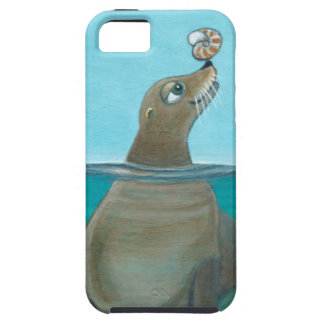 """""""Nautilus"""" The Sea Lion Case For The iPhone 5"""