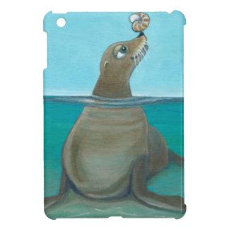 """""""Nautilus"""" The Sea Lion Cover For The iPad Mini"""
