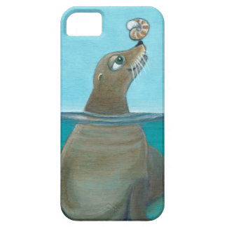 """Nautilus"" The Sea Lion iPhone 5 Cover"