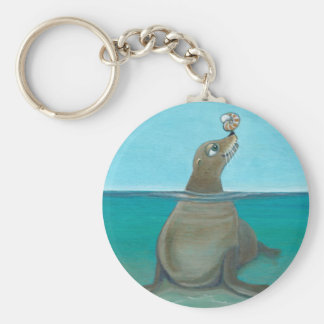 """Nautilus"" The Sea Lion Keychain"