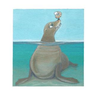 """Nautilus"" The Sea Lion Notepad"
