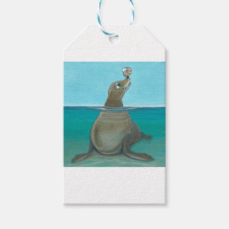 """Nautilus"" The Sea Lion Pack Of Gift Tags"