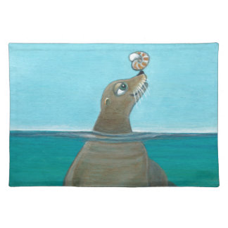 """Nautilus"" The Sea Lion Placemat"