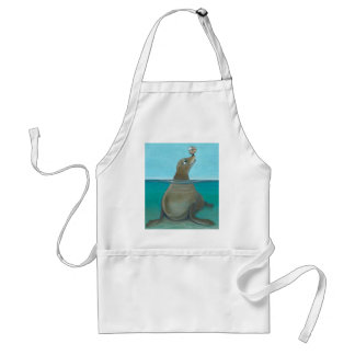 """Nautilus"" The Sea Lion Standard Apron"
