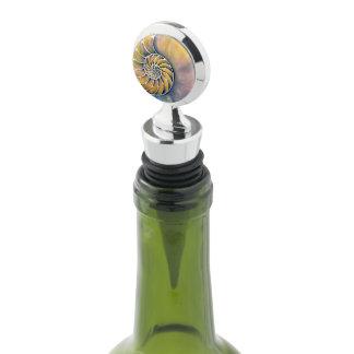 Nautilus Watercolor Wine Stopper