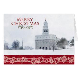 Nauvoo Temple Christmas Card