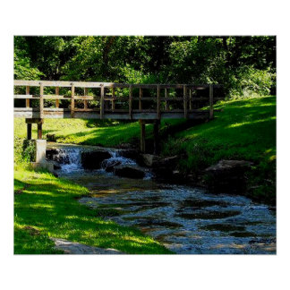 Nauvoo Waterfalls and Tranquility Poster