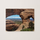 Navajo Arch Arches National Park Utah Jigsaw Puzzle