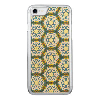 NAVAJO ART DECO CIRCLE PATTERN CARVED iPhone 7 CASE