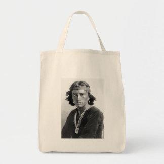 Navajo Boy Tote Bag