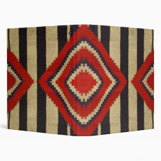 Navajo - Chief Blanket design Vinyl Binder