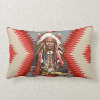 Navajo Chief Lumbar Pillow