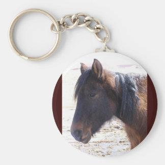 Navajo Mustang Key Chain