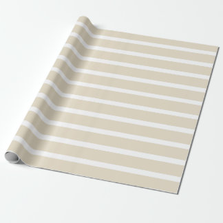 Navajo Neutral Stripes Wrapping Paper