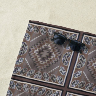 Navajo Pattern Beach Towel