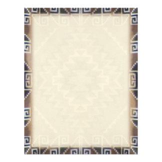 Navajo Pattern Letterhead
