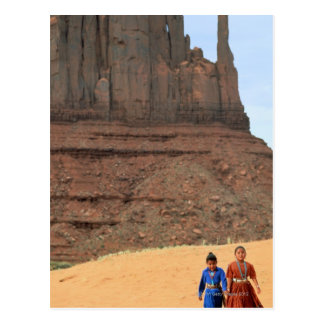 Navajo Reservation Land Postcard