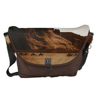 Navajo Riders - Canyon de Chelly, Az Messenger Bag