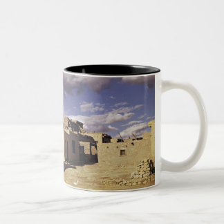 Navajo ruins Two-Tone coffee mug