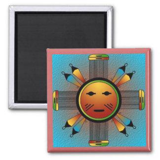 Navajo Sun Face Magnet