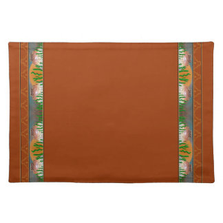 Navajo Village Terracotta Placemat