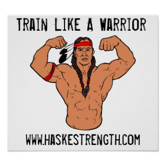 Navajo Warrior Poster