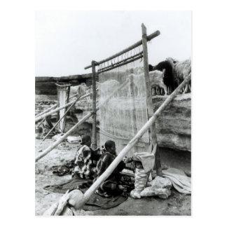 Navajo weavers, c.1914 postcard
