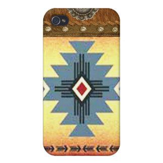 """Navajo"" Western Native American IPhone 4 Case"