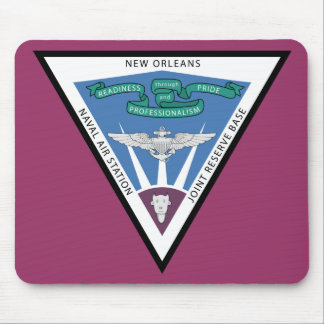 Naval Air Station - New Orleans Mouse Pad